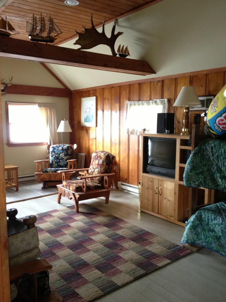 Cottage Interior Photos Sebec Lake Vacation Cottage